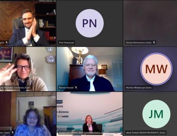 Kolejne Spotkanie Mediatorów i Przedsiębiorców
