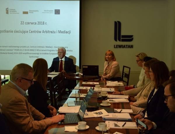 22 czerwca - I spotkanie sieciujące Centrów Arbitrażu i Mediacji